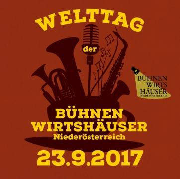 23. September 2017 Welttag der Bühnenwirtshäuser Niederösterreich